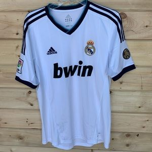 Real Madrid 110 years home jersey 2012